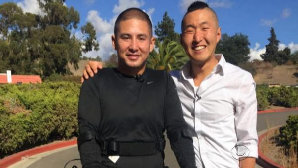 Eugene Yoon and the man he helped, Arthur Renowitzky