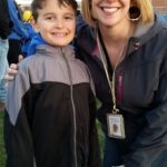 Ryan and Mrs. Hauze 2nd grade