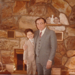 1988 My father and I