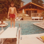 1985 Me in the backyard