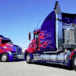Meeting the real Optimus Prime truck