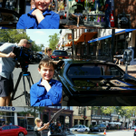 Ryan on day of comic book men filming
