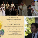 Ryan's First Holy Communion