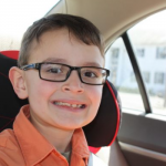 Ryan's 1st pair of glasses