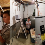 Ryan helps fix our hot water heater