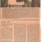 Childhood Scouts newspaper clipping