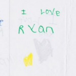 Ryan's first love letter