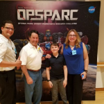 Ryan meets Peter Cullen at NASA