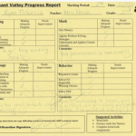 Ryan's 2nd Grade Progress Report