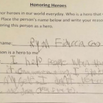 Ryan's hero note from CCD