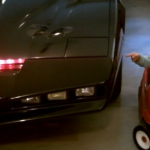 Ryan with KITT and Mini-KITT