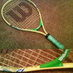Ryan's 1st Tennis Raquet
