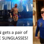 Ryan gets official WWE sunglasses
